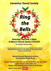 Ring the Bells at St Mary's Church, Barby