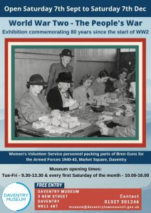 World War Two- The People's War - Daventry Museum